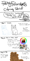 Tutorial - Coloring! by PatchyFallenstar