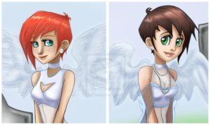 Angels commission +details+ by 77Shaya77