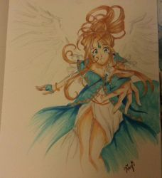 Belldandy from Ah! My Goddess by itsHaikyuu