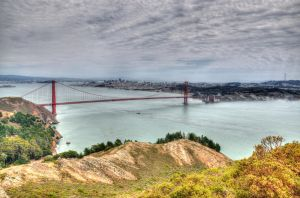 Golden Gate HDR by the3dman