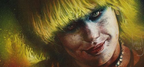 Pris from Blade Runner by JeffLafferty