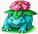 Pokemon Commish - Venusaur by Lurking-Leanne