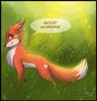 Good morning by RukiFox