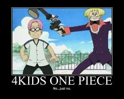 4kids One Piece by NarutoDude96