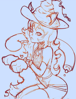 Cat Witch by oshRED