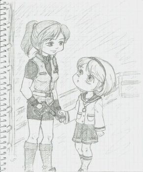 RE2 by Sumeragi-no-Chloe