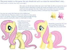 Why Not to Vector from the Pony Creator! by SilverVectors