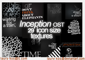 Inception OST icon textures by Laury-KOS