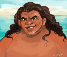 Young Maui by Sipr0na