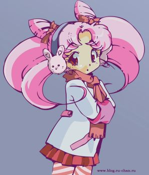 Winter Chibiusa by ToriSakura