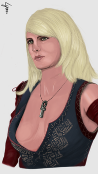 [The Witcher 3] Keira Metz by ntl2309