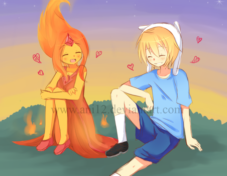 Fire Love by ani12