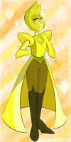 The ''Lemonous'' Yellow Diamond by QueenDarike