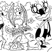 Aaahh Real Monsters by Rickz0r