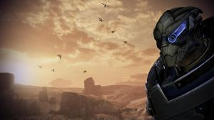 ME3: Leviathan Garrus wallpaper1 by CyberII