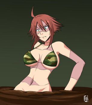 Zombina monster Musume quicksand by Forgelord91