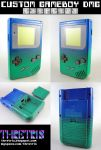 Green to Blue Fade Gameboy by Thretris