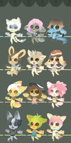 Yay! Anthros 3 .:Closed:. by Pietastic-Creations
