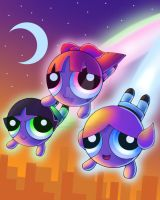 Powerpuff Girls by KteaCrumpet