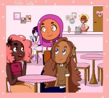 Cafe Cute by colorycloud