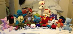 Crochet Pokemon Collection