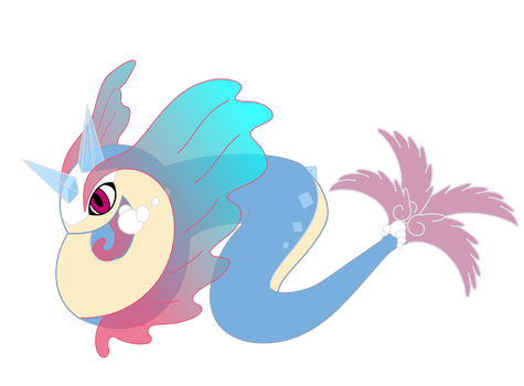 Minairus (Transparent Fins Version) by ChaosAngelMoon