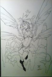 Soulfire's Grace Inked by Crausse