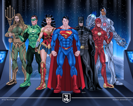 Justice League by RIVOLUTION