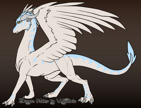 Winter Dragon by ASHREDFORD