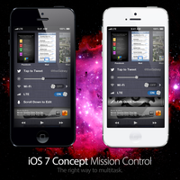 iOS 7 Concept: Mission Control by theIntensePlayer