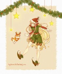 Christmas Elf by Heylenne