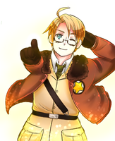 Hetalia: Handsome America: You're the star! by NessieMcCormick