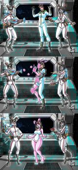 Spacebunny Slavers from Lepus IX (Kyo) by macguffin78