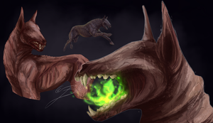 Barghest by Blue-Krew