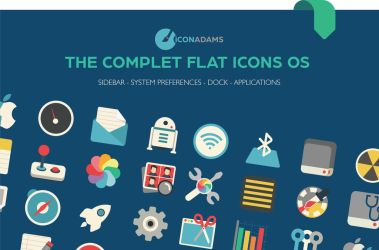 Flat iCons Pro Pack by valvator