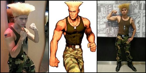 Guile from Street Fighter (CPF Preliminarie 2013) by riezforester