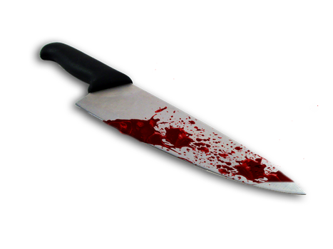 Bloody Knife by Moonglowlilly