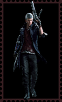 DMC5 Nero Stamp by WOLFBLADE111