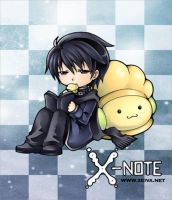 X-note - Sticker II by zeiva