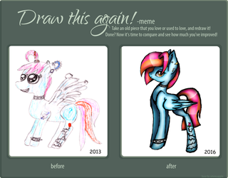 Draw This Again by iLucky7