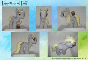 Derpy Hooves Plushie by Yukizeal