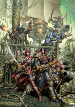 Pirates Cover by andreauderzo