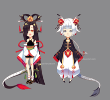 [ADOPT 135-136][SET PRICE][CLOSED] DRAGON BBIES by tomiden
