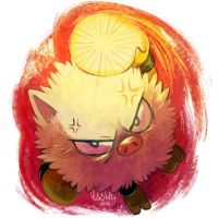 Primeape by CuteSkitty