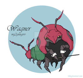 Wagner the Venipede by TDDog
