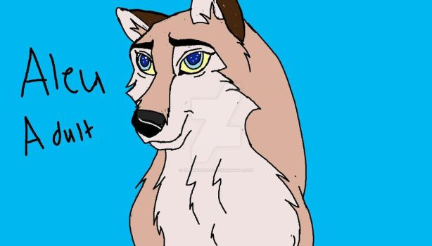 Aleu adult by ClaireBear26