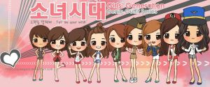 SNSD GENIE OUTFIT SERIES by squeegool