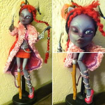 Captain Scarlet Wels: Catfish Pirate MH Custom by TerribleToadQueen