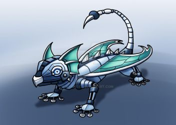 March of Robots #19: Small Dragonbot by Narnise