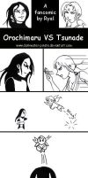 Naruto comic: Oro VS Tsunade by darkwater-pirate